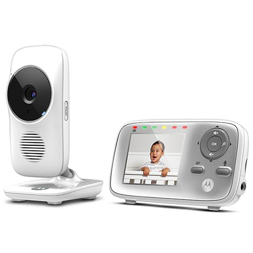 "Motorola MBP483 2.8"" Digital Wireless Video Baby Monitor"