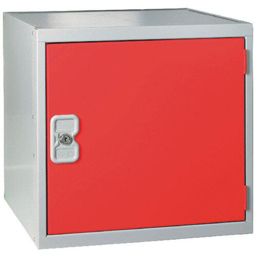 Cube Locker One Compartment Red Door 300 x 300 x 300mm MC00089