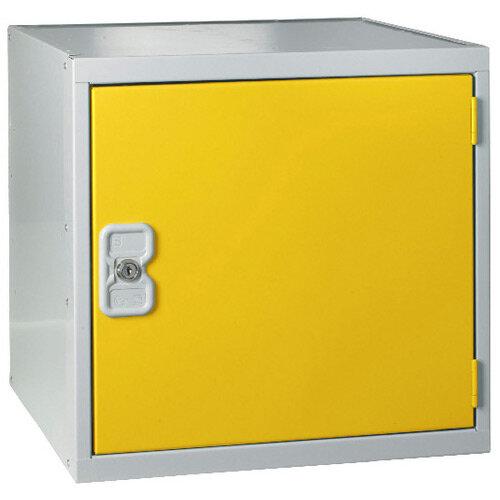 Cube Locker One Compartment Yellow Door 300 x 300 x 300mm MC00090
