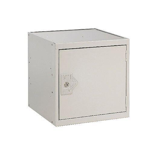 One Compartment Cube Locker Light Grey 380x380x380mm MC00092