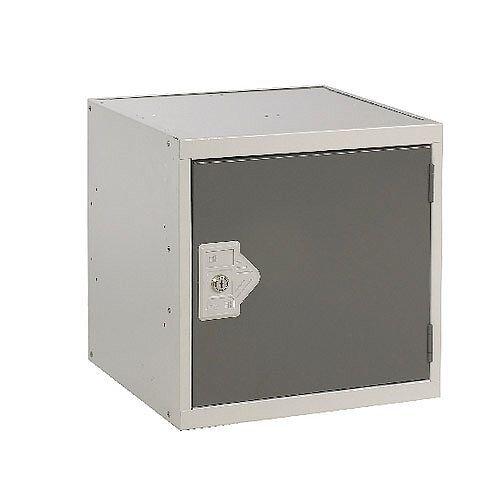 One Compartment Cube Locker Dark Grey 380x380x380mm MC00093