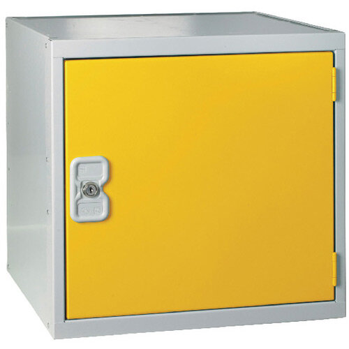 Cube Locker One Compartment Yellow Door 380 x 380 x 380mm MC00096