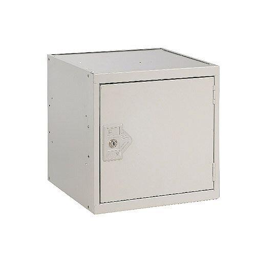 One Compartment Cube Locker Light Grey 450x450x450mm MC00098
