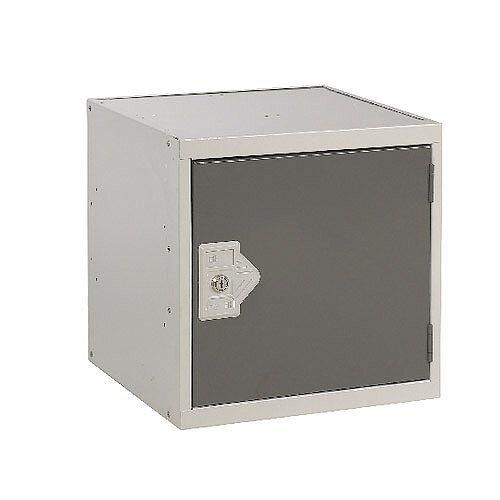 One Compartment Cube Locker Dark Grey 450x450x450mm MC00099