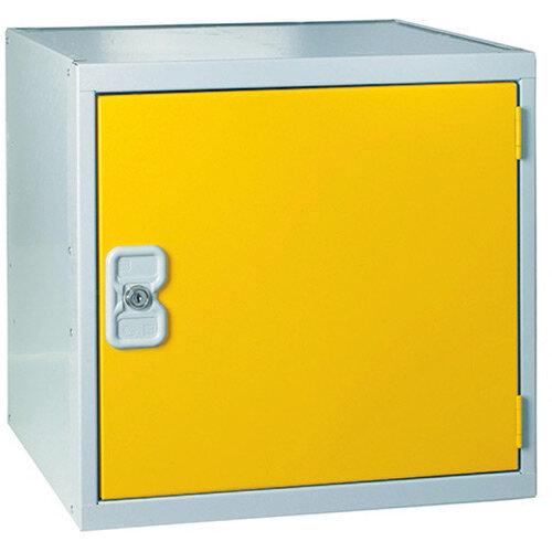 Cube Locker One Compartment Yellow Door 450 x 450 x 450mm MC00102
