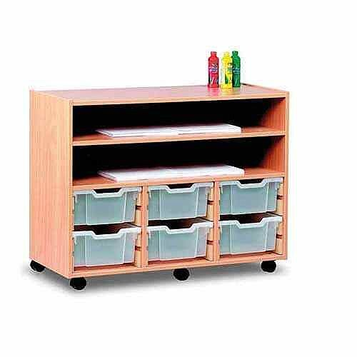 Large Art Storage with 6 Trays and 2 shelves