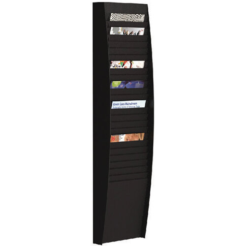 Fast Paper A4 Document Control Panel 25 Compartments Black V125.01