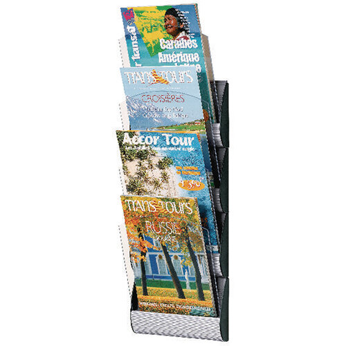 Fast Paper Maxi System Wall Display 4Xa4 Clear Pockets 4064X4.35
