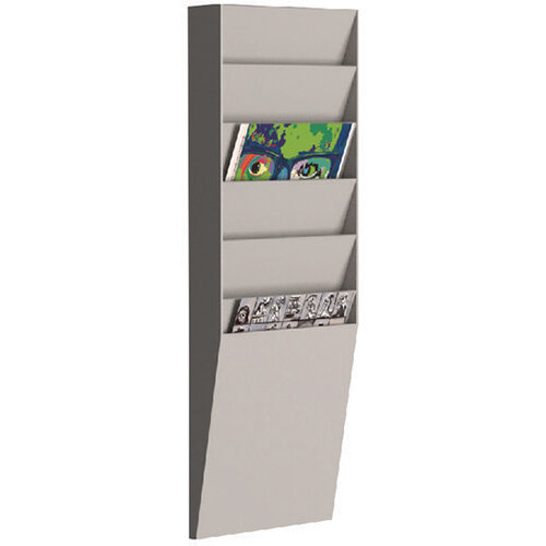 Fast Paper A4 Document Control Panel 6 Compartments Grey V16.02
