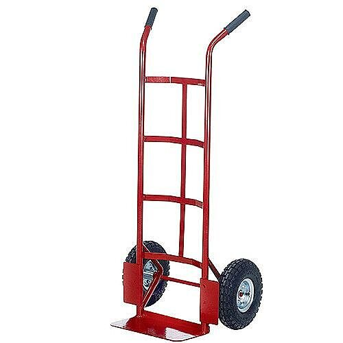 Barton Sack Truck Red PTST Capacity 150Kg With Pneumatic Wheels