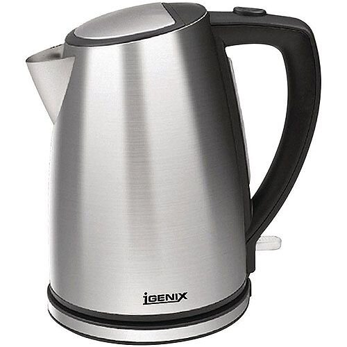 5 Star Facilities Kettle Cordless 3000W 1.7 Litre Stainless Steel