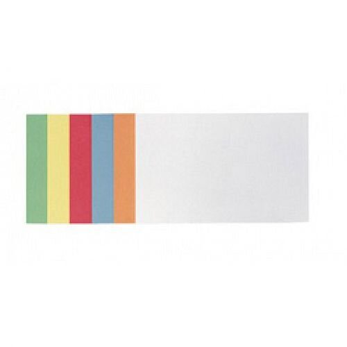 Franken Training Cards Rectangular 149x98mm Assorted Colours Pack of 300 MKS2199