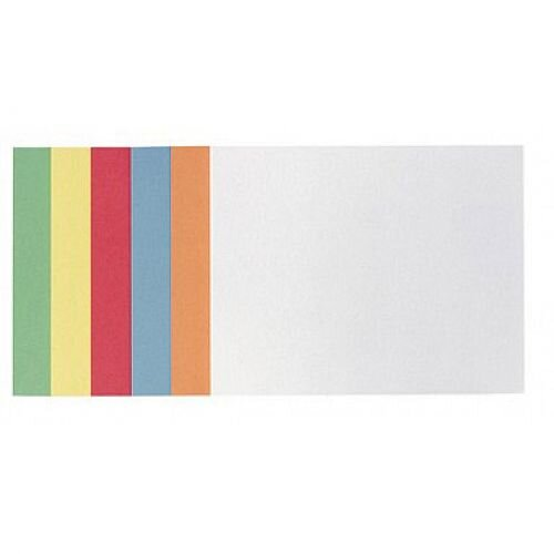 Franken Training Cards Rectangular 249x200mm Assorted Colours Pack of 300 MKS2399