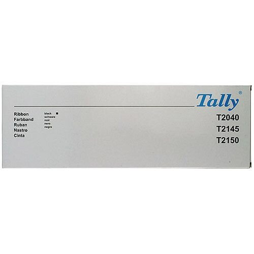 Tally Fabric Ribbon T2040 Black 060426