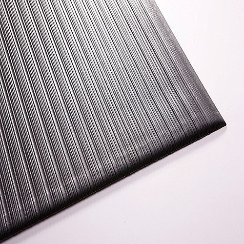 Millennium Mat Air Step Anti Fatigue Mat Black 910 x 1520mm 24030502