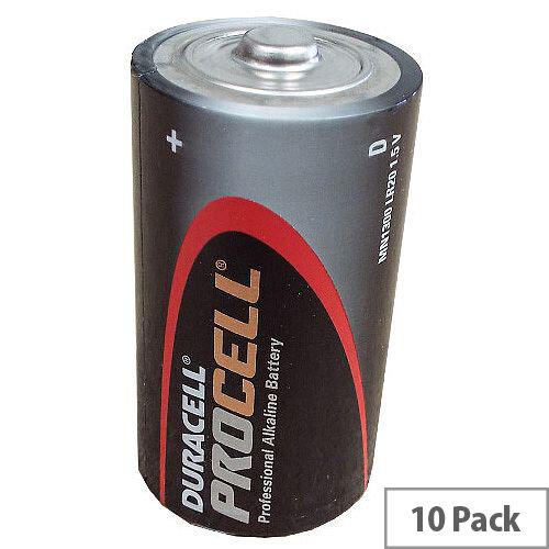 D 1.5v Duracell Procell Batteries
