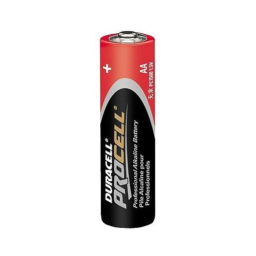 AA 1.5v Duracell Procell Batteries Box of 10