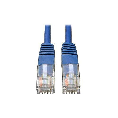 Tripp Lite Cat 5e Network Cable 2.13 m 1 x RJ-45 Male 1 x RJ-45 Male Patch Cable Blue N002-007-BL