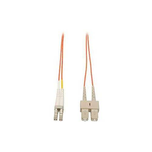 Tripp Lite Fibre Optic Network Cable 1 m 2 x LC Male 2 x SC Male Patch Cable N316-01M