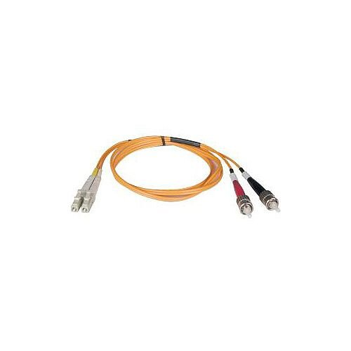 Tripp Lite Fibre Optic Network Cable 2 m 2 x LC Male 2 x ST Male Patch Cable N318-02M