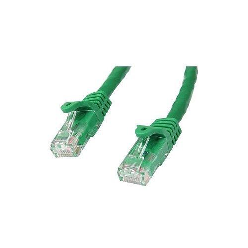 StarTech 7m Green Gigabit Snagless RJ45 UTP Cat6 Patch Cable 7 m Patch Cord 1 x RJ-45 Male Network 1 x RJ-45 Male Network Patch Cable Gold Plated Connector Green N6PATC7MGN