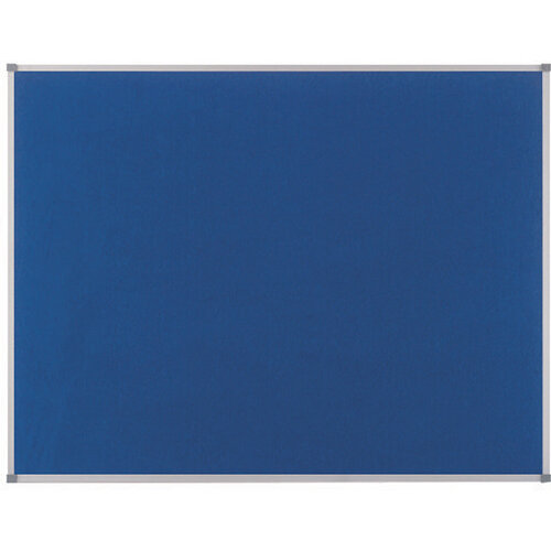 Nobo Classic Felt Noticeboard 600x450mm Blue 1900914