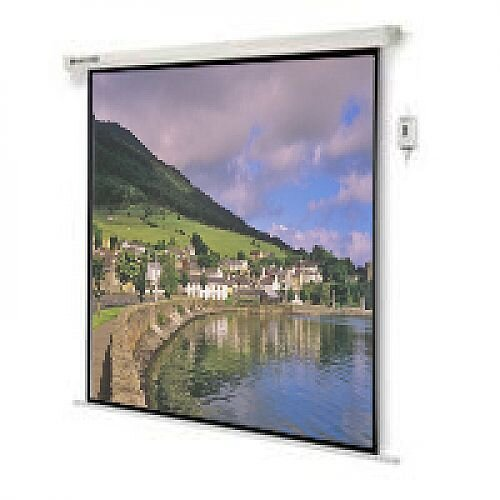 Nobo Electric Wall Mounted Projection Screen Remote W1920 x H1440mm Grey 1901972