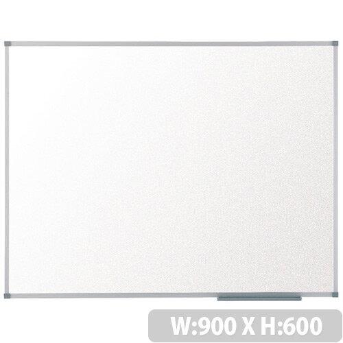 Nobo Basic Melamine Non-Magnetic Whiteboard 900 x 600mm 1905202