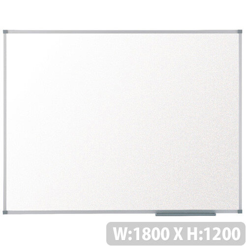Nobo Basic Melamine Non-Magnetic Whiteboard 1800 x 1200mm 1905205