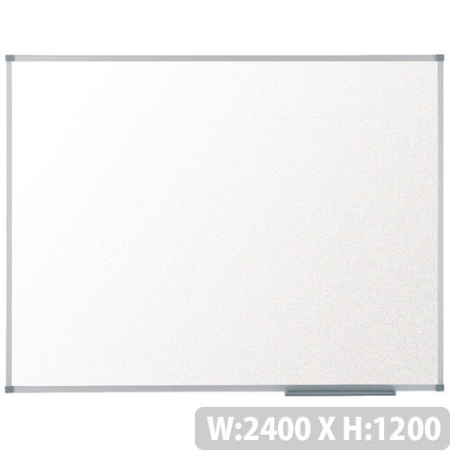 Nobo Basic Melamine Non-Magnetic Whiteboard 2400 x 1200mm 1905206