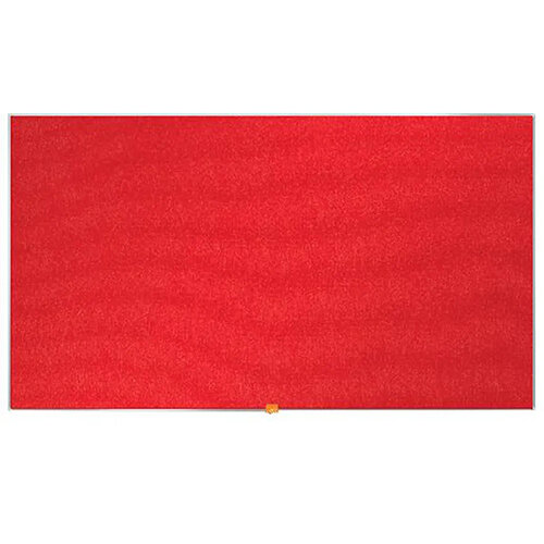 Nobo Widescreen Felt Noticeboard 1220x690mm Red 1905312
