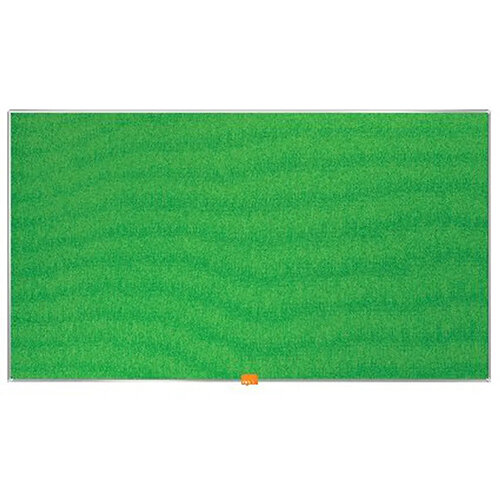 Nobo Widescreen Felt Noticeboard 890x500mm Green 1905315