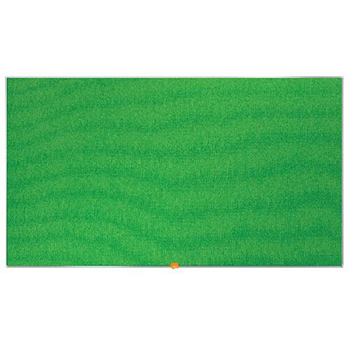Nobo Widescreen Felt Noticeboard 1220x690mm Green 1905316