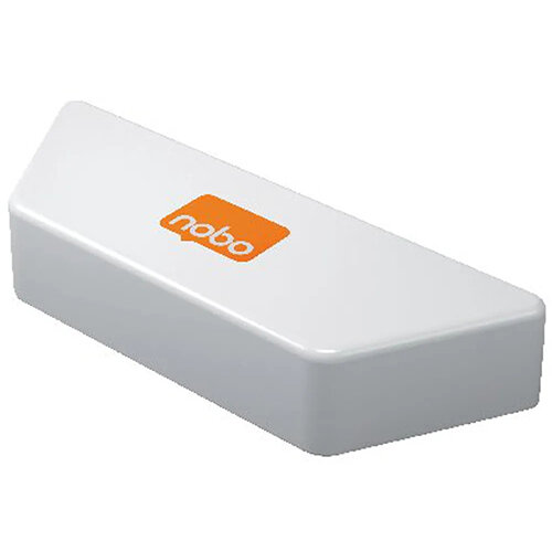 Nobo Magnetic Whiteboard Eraser White 1905325