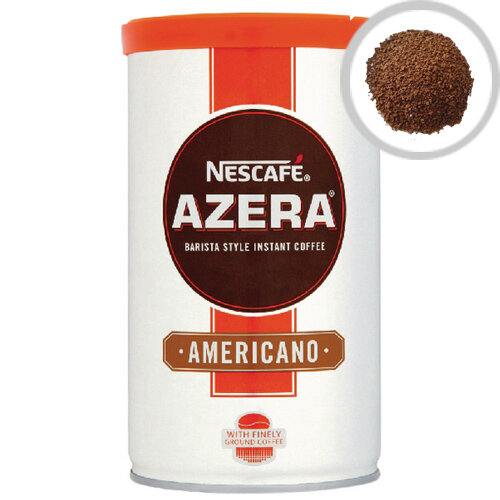Nescafe Azera Americano Instant Coffee in Granules 100g (Pack of 1) Roast Coffee Taste with Intense Aroma, Typically makes approx. 50 cups 12206974