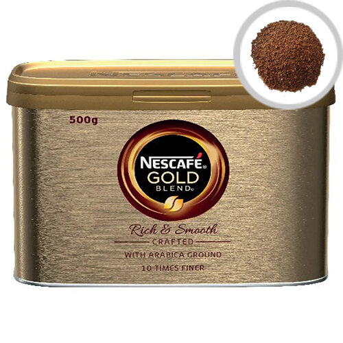 Nescafe Gold Blend Coffee 500g Pack of 6 12339246