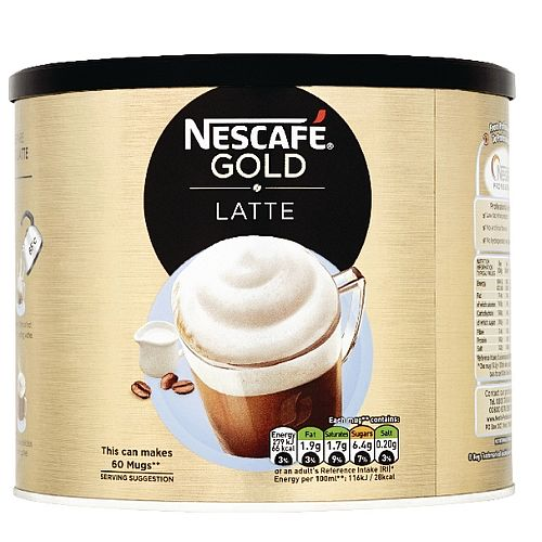 Nescafe Gold Instant Cafe Latte Sweetened 1kg Tin Pack of 1 12089849