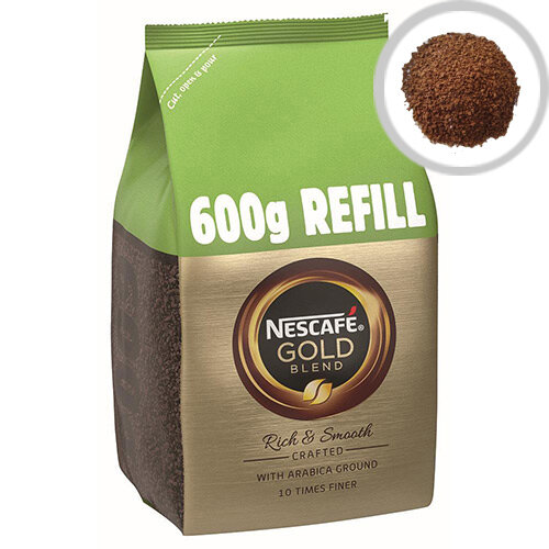 Nescafe Gold Blend Instant Coffee Refill 600g Pack of 1 12226527