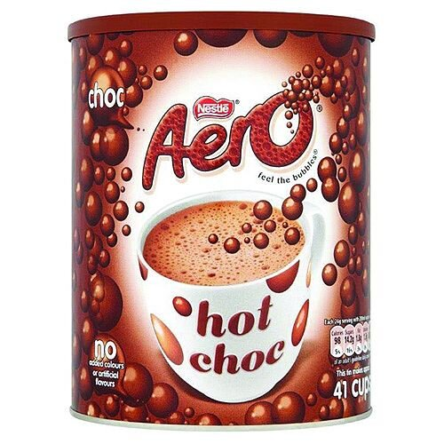 Nestle Aero Hot Drinking Chocolate Powder 1Kg Tub 5218043