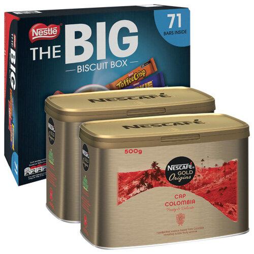 Cap Colombie 500g Buy 2 Get FOC Big Biscuit Box