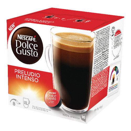 Nescafe Dolce Gusto Preludio Intenso Capsules Pack of 48 12323831