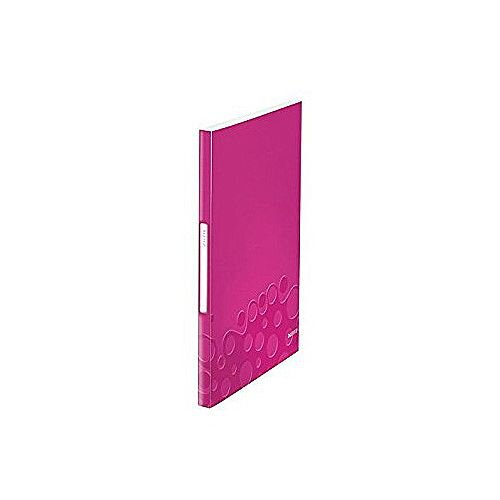 Leitz WOW Display Book 20 Pockets Pink