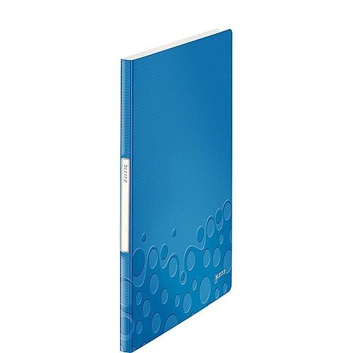 Leitz WOW Display Book 20 Pockets Blue