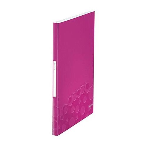 Leitz WOW Display Book 40 Pockets Pink