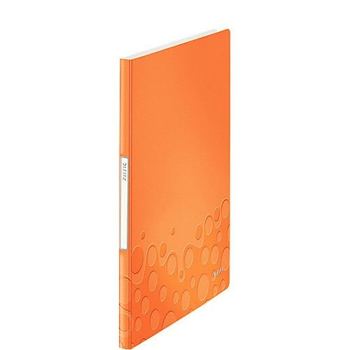 Leitz WOW Display Book 40 Pockets Orange