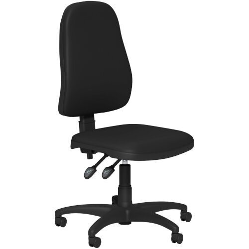 OA Series High Back High Back Operator Office Chair Black Vinyl