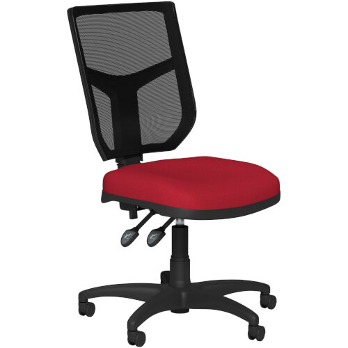 OA Series Mesh Back Office Chair with Adjustable Black Mesh Back &Bespoke Evert Fabric Seat