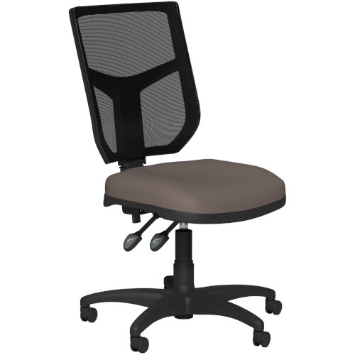 OA Series Mesh Back Office Chair with Adjustable Black Mesh Back &Bespoke Lotus PU Seat