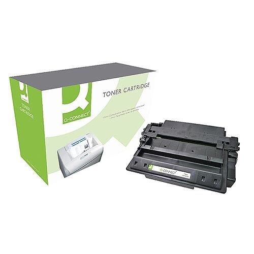 HP 11X Black Compatible High Capacity Laser Toner Cartridge Q6511X Q-Connect