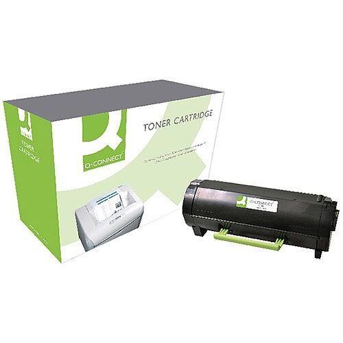 Q-Connect Lexmark MS610 Black Toner Ultra High Yield 50F2U00-COMP